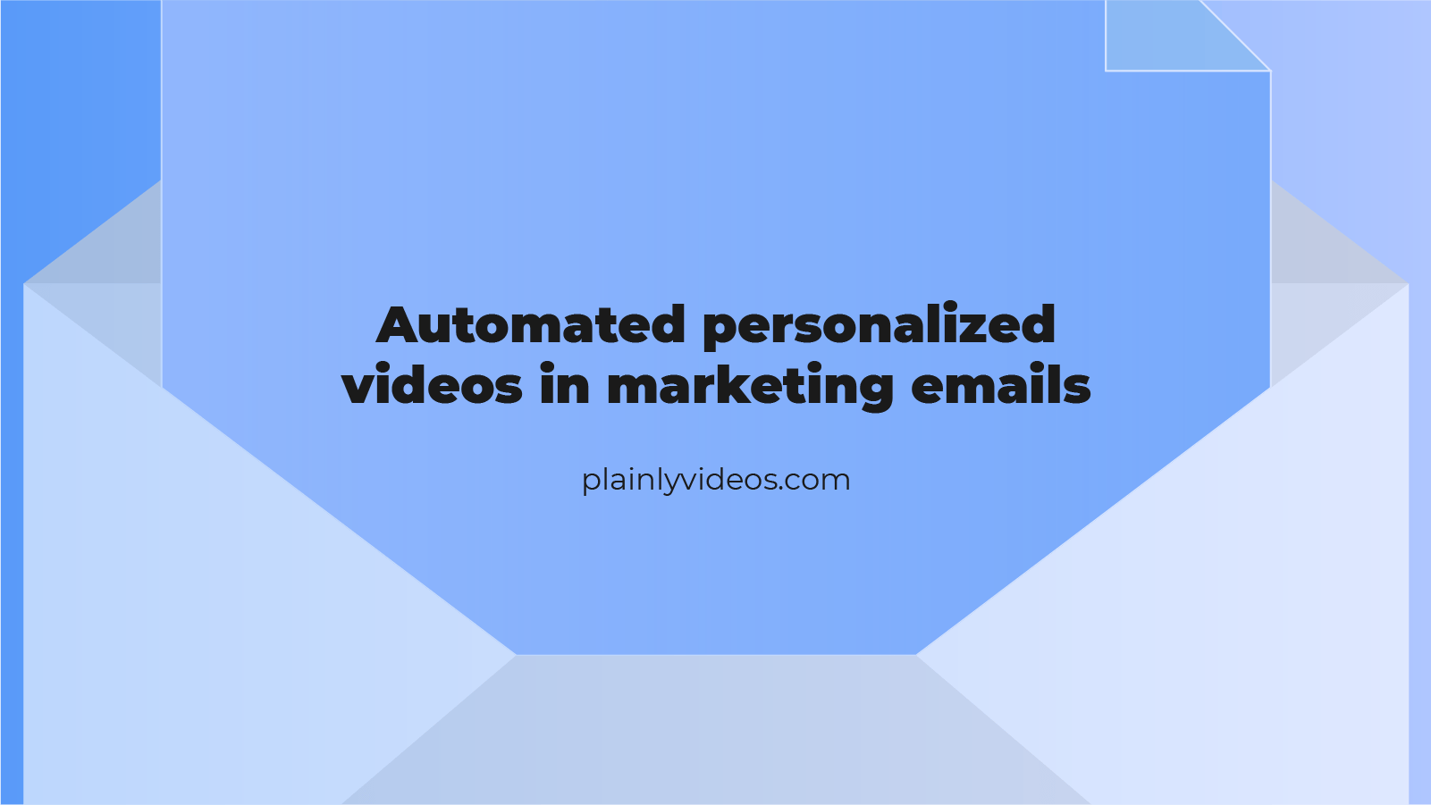 Automated personalized videos in your marketing emails – Cut through the noise, and increase conversions